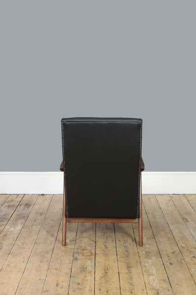 High Back Dutch Armchair