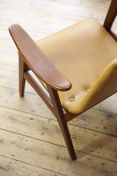Low Back Armchair by Louis van Teeffelen