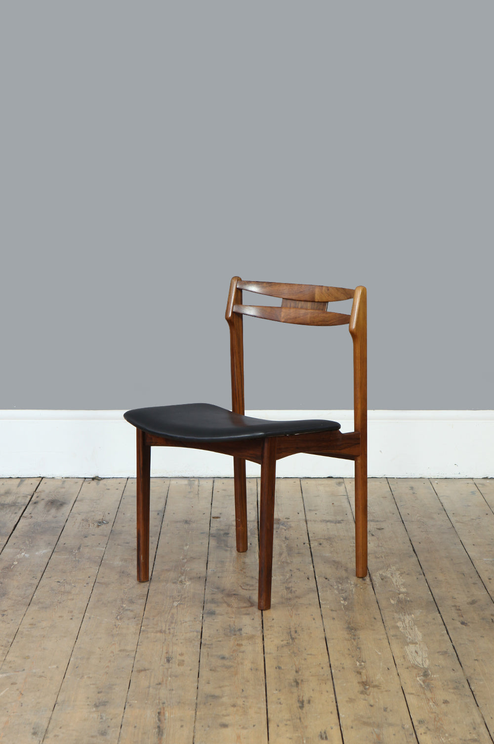Set of Four Quirky Rosewood Dining Chairs – Forest London