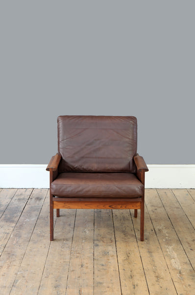 Illum Wikkelso Rosewood Capella Armchair