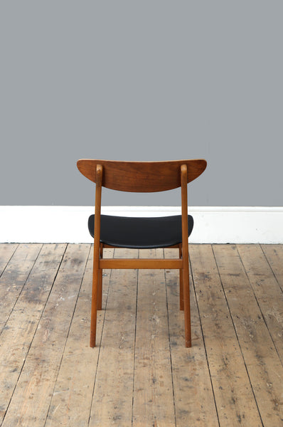 Set of 10 Teak Dining Chairs - Forest London