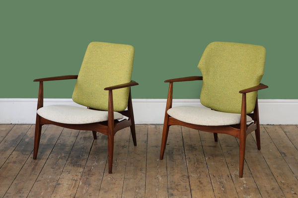 'Hers' Armchair by Louis van Teeffelen - Forest London