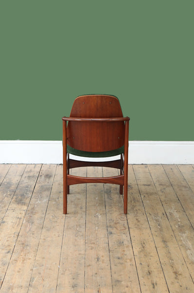 Sculptural Teak Dining Chairs