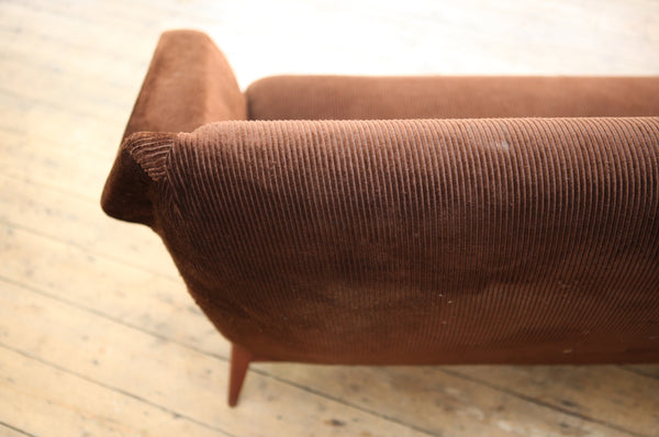 Dutch Three Seater Sofa with Reupholstery