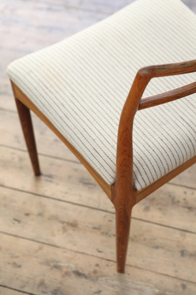 Set of 6 Rosewood Dining Chairs by Johannes Andersen