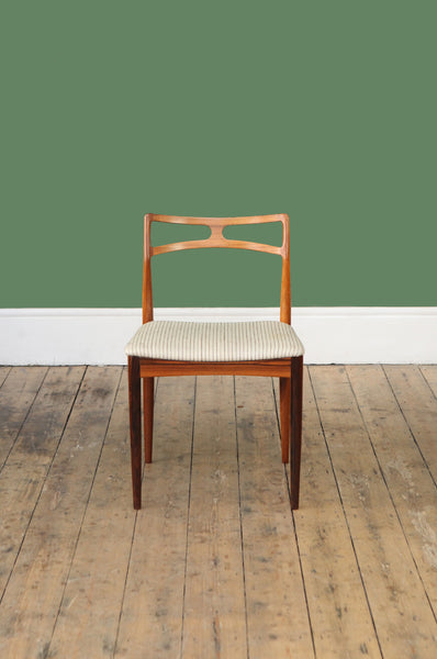 ON HOLD - Set of 6 Rosewood Dining Chairs by Johannes Andersen