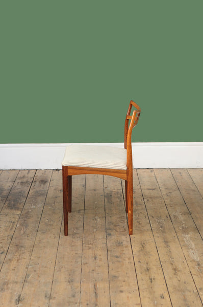 ON HOLD - Set of 6 Rosewood Dining Chairs by Johannes Andersen - Forest London