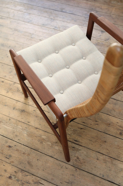 Newly Upholstered Armchair by P.J. Muntendam 1