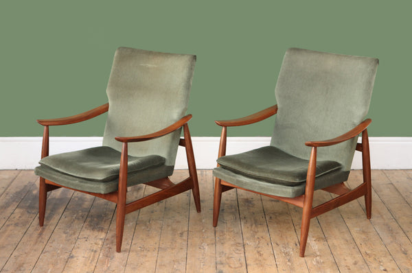 High Back Armchair (Two Available) - Forest London
