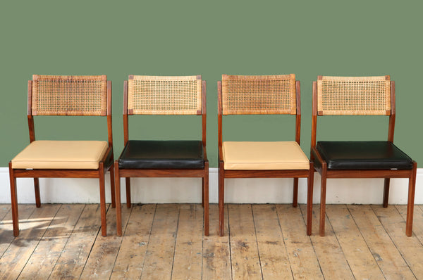 Set of Four Dining Chairs Manufactured by Topform
