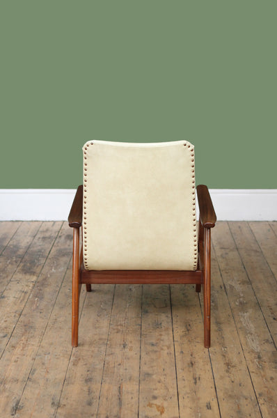High Back Armchair by Louis van Teeffelen