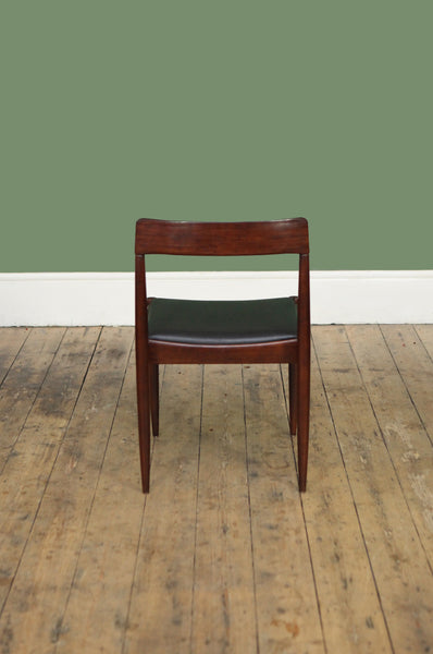 Set of Four Rosewood Dining Chairs
