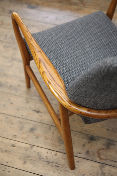 Low Back Armchair 1 by Madsen & Schubell - Forest London