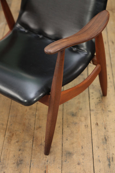 Louis Van Teeffelen flexi-back armchair