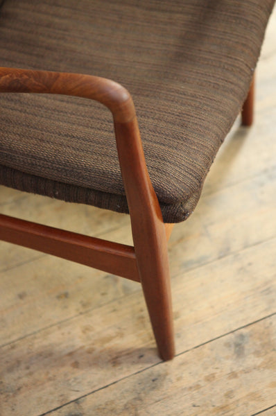 ON SALE// High Back Armchair including Reupholstery by Madsen & Schubell