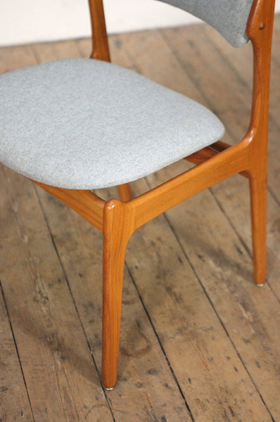 Erik Buch Side Chair - Two Available - Forest London