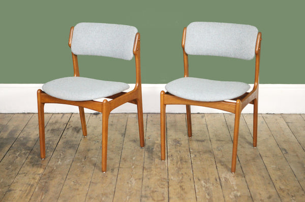 Pair of Erik Buch Dining Chairs