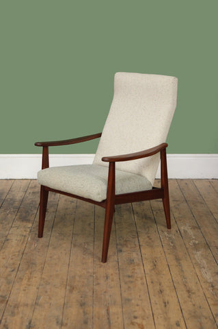 ON SALE // Newly Upholstered Dutch Armchair