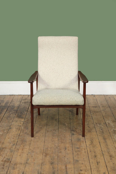 Newly Upholstered Dutch Armchair