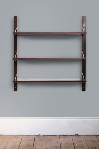 Set of Three Rosewood Shelves by Poul Cadovius