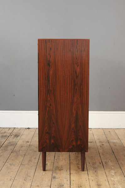 Tall Danish Rosewood Chest of Drawers - Forest London