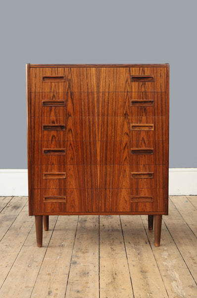 Tall Rosewood Chest of Drawers - Forest London