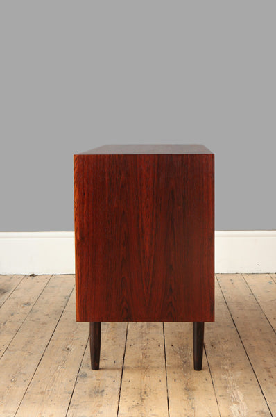 Short Rosewood Chest of Drawers