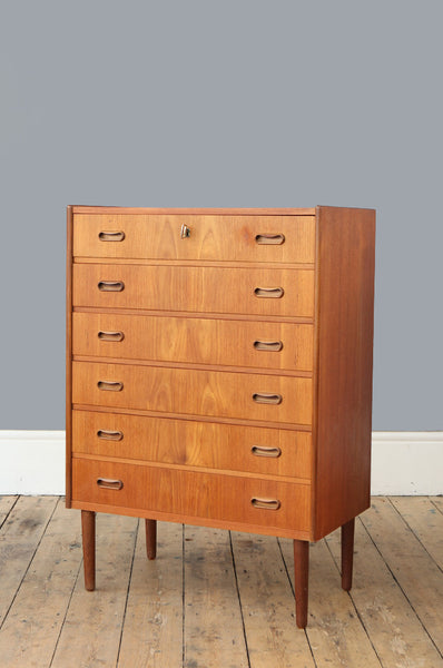 Danish Chest of Drawers - Forest London