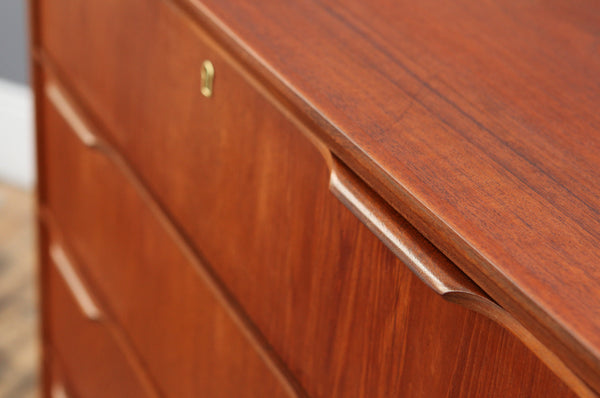 Large Teak Chest of Drawers