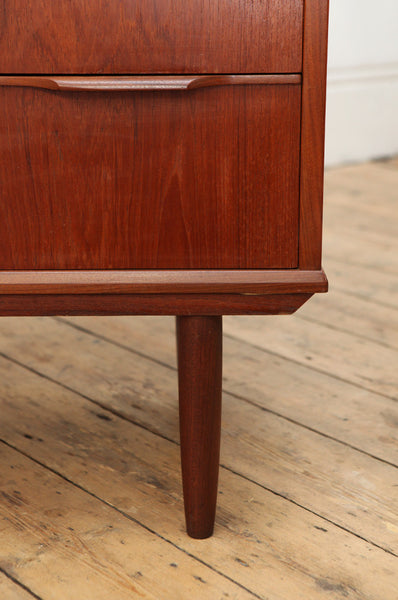 Large Teak Chest of Drawers - Forest London
