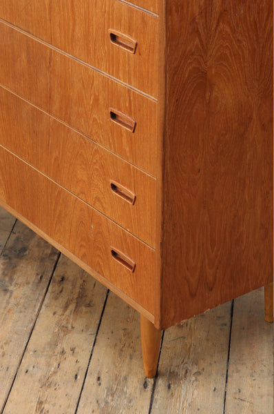 Light Teak Chest of Drawers - Forest London
