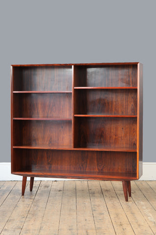Large 1960s Rosewood Bookcase