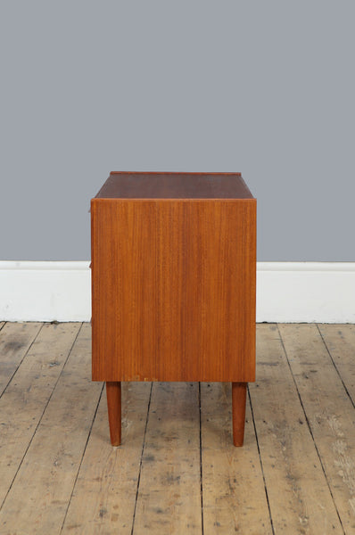 Small Teak Chest of Drawers - Forest London