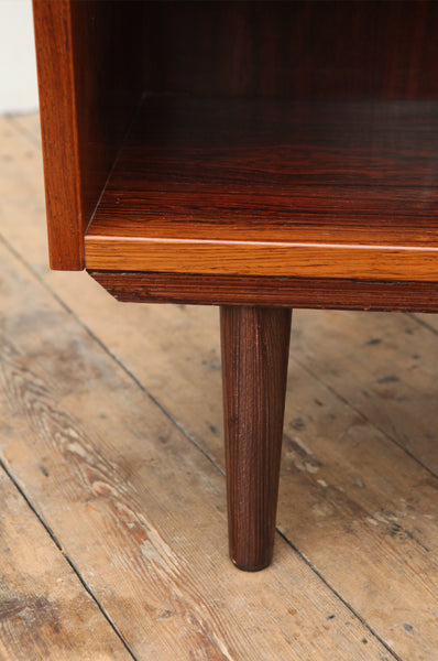 Tall Danish Rosewood Bookcase