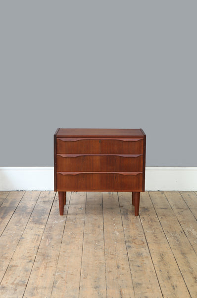 Small Danish Chest of Drawers