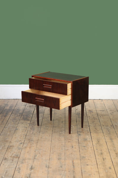 ON SALE // Rosewood Bedside Chest - Forest London