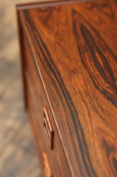 Low Rosewood Chest of Drawers - Forest London