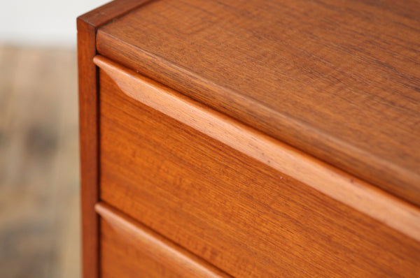 ON SALE // Compact Teak Chest of Drawers - Forest London