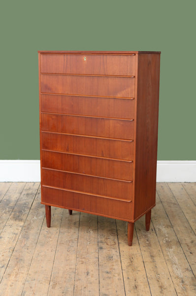 Tall Danish Chest