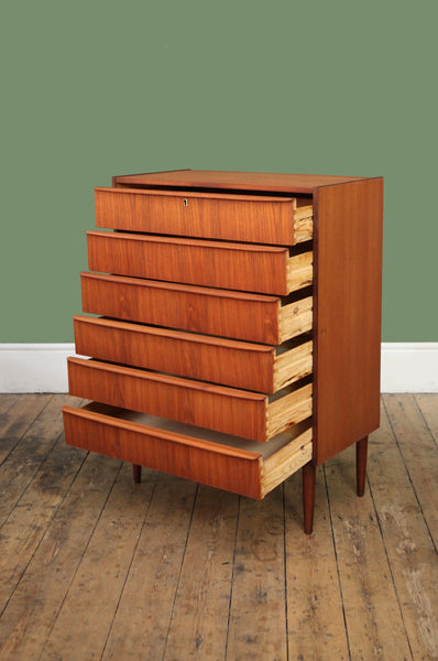 Tall Six Drawer Chest