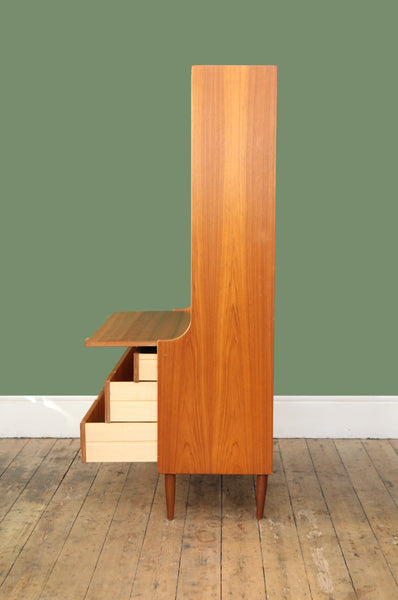 Danish Tall Cabinet - Forest London