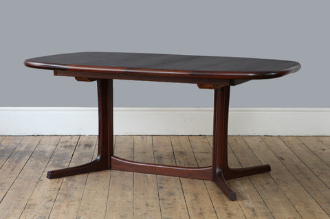 Dark Teak Dining Table