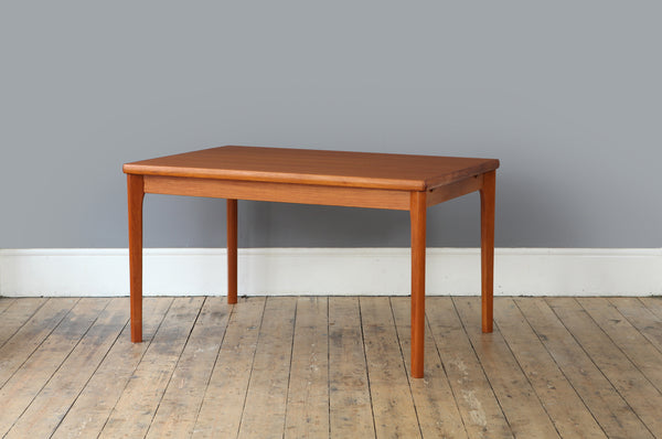 Teak Dining Table by Henning Kjaernulf for AM Mobler