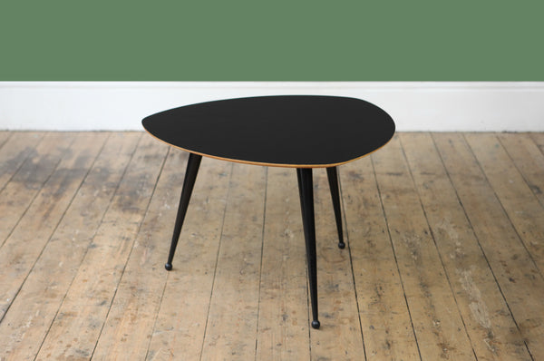Glossy Black Coffee Table - Forest London