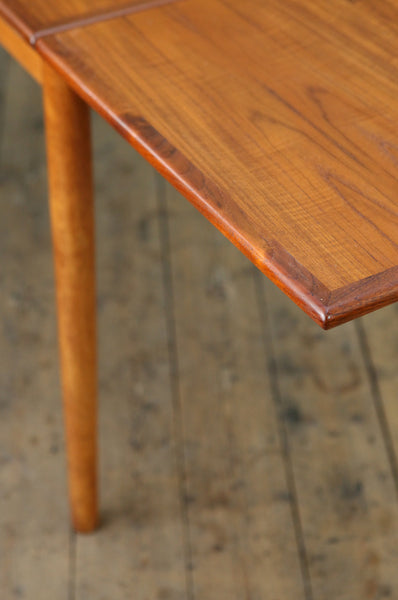 Extendable Teak Dining Table by Erik Buch