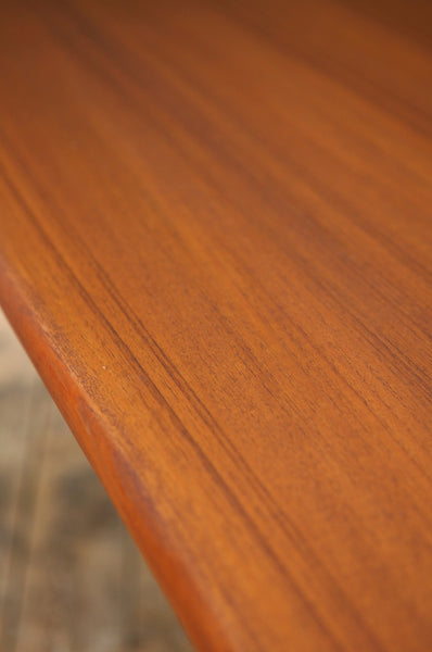 Extendable Teak Dining Table by Henning Kjaernulf