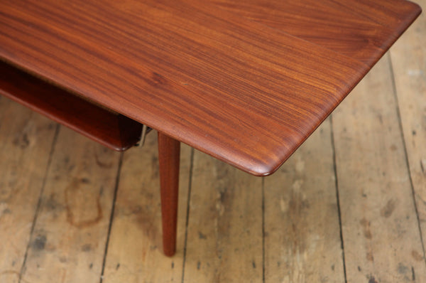 Teak Coffee Table in the Style of Peter Hvidt