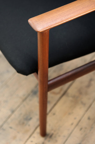 Striking Teak Armchair
