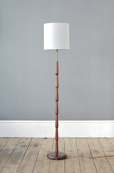 Unique Teak Floor Lamp