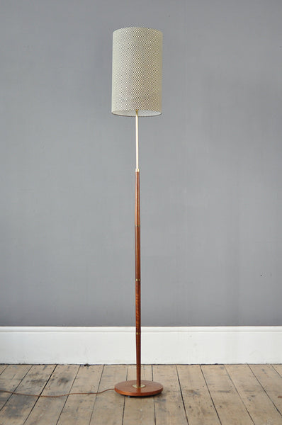 Teak Floor Lamp - Forest London